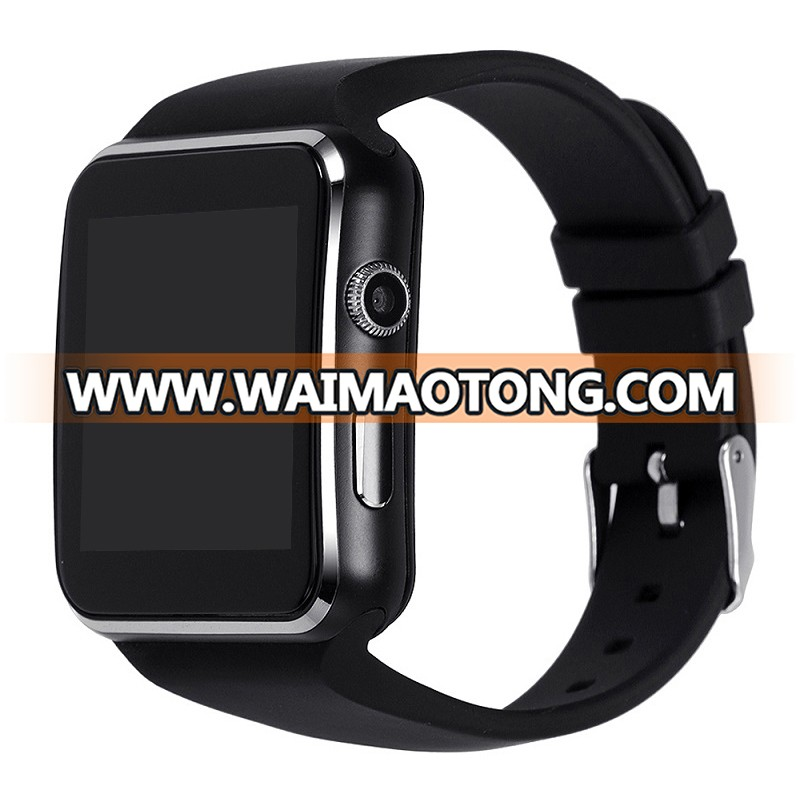 2018 Cheap waterproof Android smart watch wholesale CE RoHS 2018 smartwatch X6